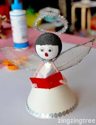 Christmas Angels Decorations To Make by How To Make A Cute Singing Christmas Angel Decoration