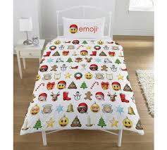 Christmas Duvet Covers Uk Buy Emoji Christmas Duvet Cover Set Single At Argos Co Uk Your