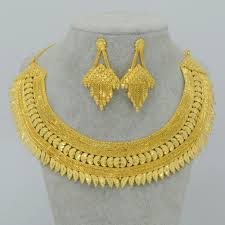 new gold set aliexpress buy dubai jewelry sets for bridal wedding gift