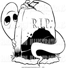spooky halloween clipart headstone clipart spooky pencil and in color headstone clipart
