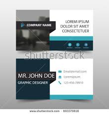 Simple Business Cards Templates Modern Simple Dark Business Card Template Stock Vector 181720214