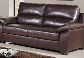 3 seat leather sofa gloucester 3 seater mocha brown hb122 sofashop com