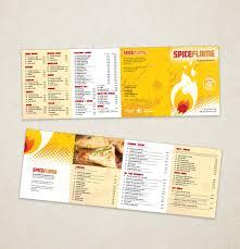 indian restaurant menu template designs indian restaurant