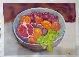 fruit bowl art lovers australia
