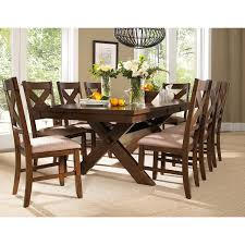dining room sets solid wood 9 piece solid wood dining set with table and 8 chairs free