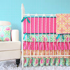 Pink And Gold Baby Bedding Pink Polka Dot Crib Bedding Ktactical Decoration