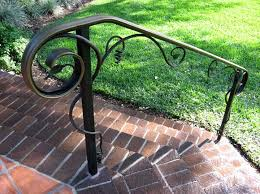 exterior metal stair railings exterior stair railings for every