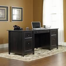 White Laminate Desk Furniture Wooden Sauder Desks For Your Office Furniture Ideas