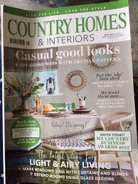 100 country homes and interiors magazine about pam pam