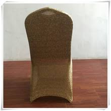 Gold Spandex Chair Covers Popular Glitter Chair Covers Buy Cheap Glitter Chair Covers Lots