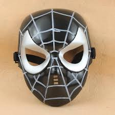 black bauta mask black classic spider mask for children