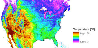 us desert map u s desert songbirds at risk in a warming climate nasa