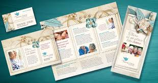hospice u0026 home care tri fold brochure design projects to try