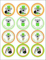 10 amazing st patrick u0027s day cupcakes plus free cupcake toppers