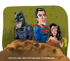 critics batman superman cartoon cartoon