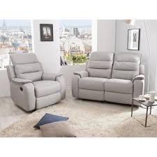 ensemble canapé fauteuil ensemble canapé 2 relax manuel 2 places fauteuil relax manuel en