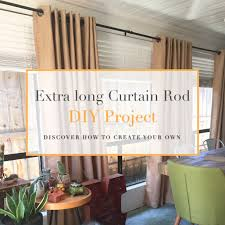 Cowboy Curtain Rods by Extra Long Curtain Rod Diy Project House Hart Travel And