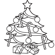christmas tree color book pages village pingoi coloriage