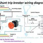ansul system wiring for alluring square d shunt trip breaker in
