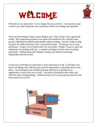 student teaching teacher welcome letter by wise guys tpt