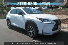 lexus frederick vehicles at stevinson lexus of frederick serving denver