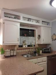 How To Update Kitchen Cabinets by Best 25 Kitchen Soffit Ideas On Pinterest Soffit Ideas Crown