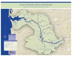 Columbia Campus Map Study Area Map The Lower Columbia Estuary Partnership