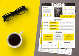 Free Creative Resume Template Psd Free Creative Resume Cv Design Template Psd File Good Resume