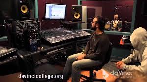 audio engineering l davinci college diploma program