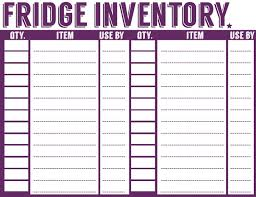 Kitchen Inventory Spreadsheet by The 25 Best Pantry Inventory Ideas On Pantry