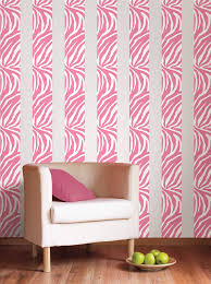 Animal Print Wall Decor Chic Zebra Print Wall Decals 116 Animal Print Wall Stickers Uk