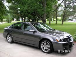 nissan cars names vt 2005 nissan altima s er 6 speed w 83 500k 11 000 00 nissan