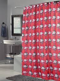 Santa Curtains Incredible Christmas Shower Curtains