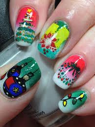 canadian nail fanatic new crumpets nail art challenge christmas