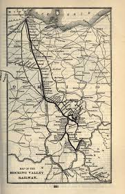 Ohio Valley Map by Hocking Valley Railway Wikipedia