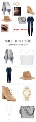 happy thanksgiving by stylishsyd on polyvore featuring