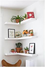 Wall Shelves Box Corner Zig Zag Wall Shelf Diy Amusing Design Of The White Corner