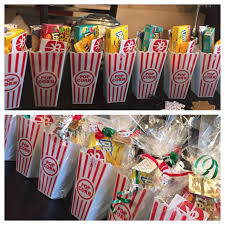christmas gift for my employees movie ticket popcorn and candy