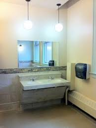 nice stripe of tile commercial bathroom google search