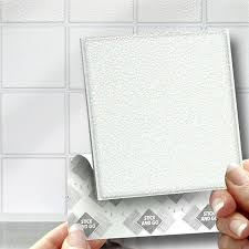 stick on tile pcs 3d mirror tile wall sticker square self 18 white effect wall tiles 2mm thick and solid self adhesive stick on wall tile