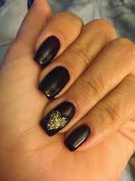 black and silver nail designs nail art