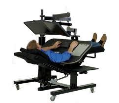 Zero Gravity Chair Table Ergoquest Zero Gravity Workstations