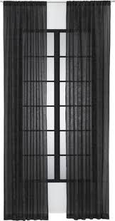 Black Linen Curtains Best 25 Sheer Curtain Panels Ideas On Pinterest Curtain Designs