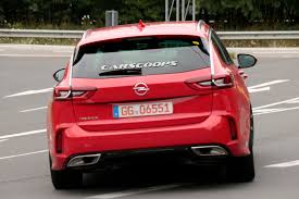 upcoming opel insignia gsi looks good in sports tourer form