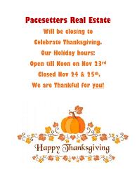 thanksgiving closed
