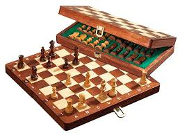 Philos travel chess set deluxe magnetic online