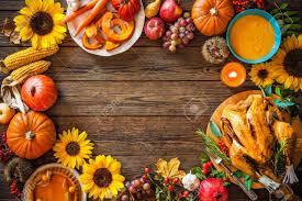 turkey pumpkins thanksgiving dinner roasted turkey with pumpkins and sunflowers