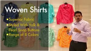 Fabric Trends 2017 Training Video Reliance Trends Woven Shirts Youtube