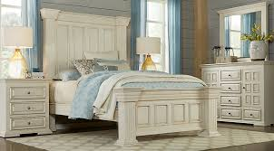 ashworth ivory 5 pc queen panel bedroom queen bedroom sets white