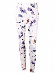 light purple leggings women s high waist bat spider print halloween leggings light purple
